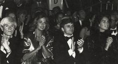 Andy Warhol, Lauren Hutton, Mikhail Baryshnikov and Brooke Shields at Metropolitan Museum of Art- 1982