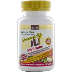 Nature's Plus Source Of Life Gold Mini 180tabs < Ειδικές Φόρμουλες | ToFarmakeioMou.gr