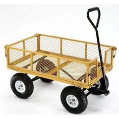 Farm & Ranch 900 lb. Capacity Utility Cart-FR1245-2 - The Home Depot