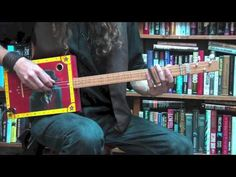 ▶ Learn to Play the Blues on 3-String Cigar Box Guitar- Part Two: Slide Improv - YouTube Justin Johnson