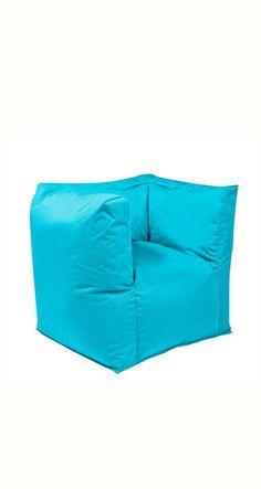 Nice Blauer Sitzsack f r den Garten OUTBAG Valley Sitzsack Sessel PLUS mehr Sitzs cke in bunten