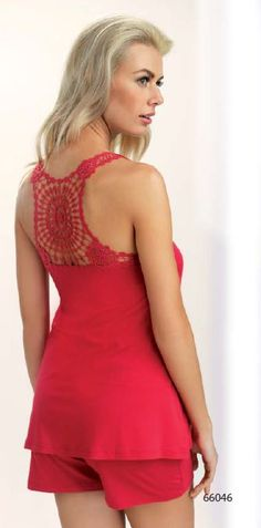 pyjashort Bridget corin lingerie 2015