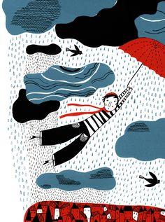 The Rain Takes Me Away / A Murmuration Of Children - Mina Braun