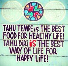 Tahu Tempe is the best - #Meme - http://wp.me/p3MK7L-bsl