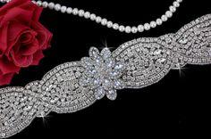 Bridal Belt Sash  Wedding Sash Belt  Wedding by EleganceByKate, $87.00
