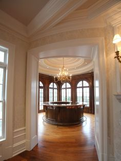 A bar at the Frick Estate, a new stone mansion in Alpine, N. March Interior designer Terence Mack of Sparkill did the interior design and staging at the house. Mega Mansions, Luxury Mansions, My Dream Home, Dream Life, Dream Homes, Stone Mansion, Lake Cottage, Window View, Grey Stone