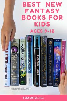 I'm always on the lookout for new fantasy books for kids since my daughters and I love to read that genre. Here are the BEST new fantasy books we've read. Best Fantasy Book Series, Fantasy Books For Kids, Fantasy Book Covers, New Fantasy, 5th Grade Books, 6th Grade Reading, Kids Reading, Reading Lists, Book Lists