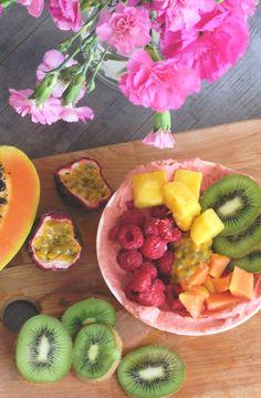 Mango, Smoothie Bowl, Watermelon, Fruit, Food, Manga, Essen, Meals, Yemek