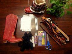 Wildflowers 3: DIY: Boho boot