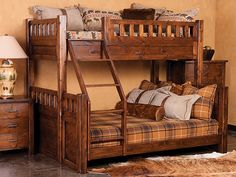 Wasatch Bunk Bed ~ Post Canyon Trading