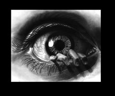 """""""Eye"""" wants to be free! by Paul-Shanghai on DeviantArt .- """"Eye"""" wants to be free! by Paul-Shanghai on DeviantArt - Art Drawings Sketches, Tattoo Drawings, Body Art Tattoos, Pencil Drawings, Sleeve Tattoos, Eye Tattoos, Trendy Tattoos, Tattoos For Guys, Ojo Tattoo"""