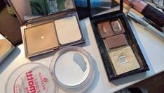 Baby pan & pan progress on my daily face & eyebrow makeup