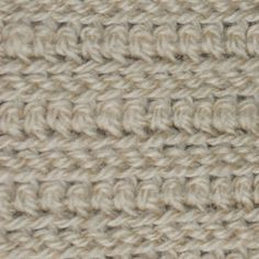 Men's Crochet Scarf Pattern (slip and single crochet stitches)