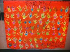 """Step into Grade with Mrs. Lemons: skip counting: """"We used our handprint turkeys to count by and we did TONS of estimation while we were counting and looking at the numbers! Between my 2 classes, we were able to count all the way to Maths Eyfs, Math Enrichment, Math Classroom, Kindergarten Math, Teaching Math, Classroom Ideas, Future Classroom, Numeracy, Teaching Ideas"""