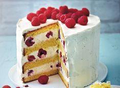 Cake Tower, Chiffon Cake, Bakery Cakes, Cream Cake, Vanilla Cake, Cake Recipes, Deserts, Dinner Recipes, Favorite Recipes