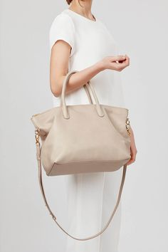 The top-zip satchel