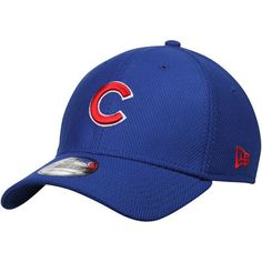 2450df57fc2 Chicago Cubs New Era Diamond Era NE Tech 39THIRTY Flex Hat - Royal