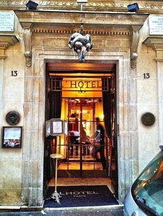L'hotel Paris - where Stephanie Lacava stays and where Oscar Wilde lived