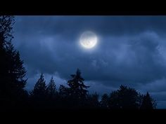 Photoshop CS6: How to Transform a Cloudy Day into a Moonlit Night using Image-Adjustment-Color Lookup-3DLUT File-Moonlight