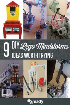 9 DIY Lego Mindstorms Ideas by DIY Ready at  http://diyready.com/9-diy-lego-mindstorms-ideas/