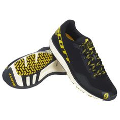 "The SCOTT Palani RC is the ultimate racing shoe with its ""less is more"" approach. Triathlon Gear, Scott Sports, Racing Shoes, Shops, Athletic Gear, Cool Bikes, Black N Yellow, Mtb, Mountain Biking"