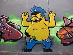 THE SIMPSONS IN FITZROY