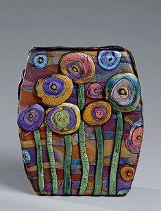 Posie Vase by aMused Creations, via Flickr
