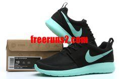 ad4845868b91 Nike Roshe Run 3D Elite Mens Black Tiffany Blue 511881 520 Cheap Nike Roshe  2013 For
