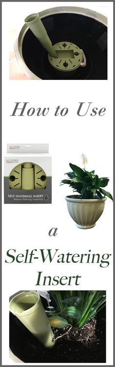 Have you ever wished that your potted plants could just…water themselves? Southern Patio's new Self-Watering Insert actually transforms most decorative planters into a hassle-free, low-maintenance container garden.