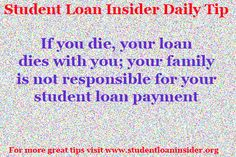 For more tips about #repayment plans, taxes, #enrollment information, #deferments & #forbearances and more visit www.studentloaninsider.org   #studentloans