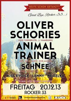 Oliver Schories Animal Trainer schNee