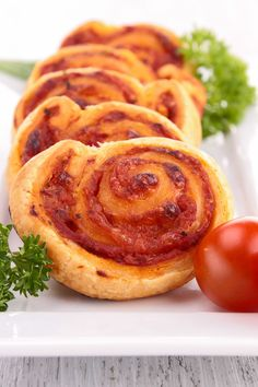Easy Pizza Pinwheels Recipe made with Refrigerated Crescent Roll Dough