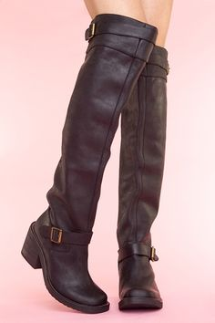 ahhhhh I have been looking for an awesome BLACk over the knee boot...Morgan Boot $298