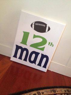 12th man Sign