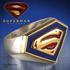 Superman ring! <3