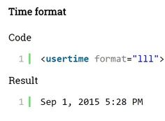 usertime.js is an ultra-light time manipulation plugin that parses, formats and displays ISO 8601 date and Unix timestamp in users' timezone.