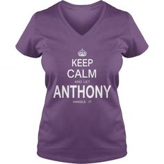 Awesome Tee Name Shirts Anthony vTShirt Hoodie Shirt VNeck Shirt Sweat Shirt for womens and Men birthday queens T shirts