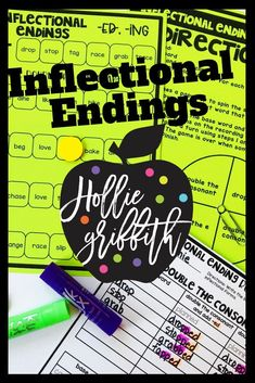 Teach students to identify frequently occurring root words and their inflectional forms with this engaging hands-on resource. This bundle includes 9 days of mini lessons, anchor charts, board games, FoldUpbooks and sorts, printables, an interactive notebook page, task cards, and a quick assessment. This is a complete hands-on mini unit that will add fun and excitement to your classroom. #HollieGriffithTeaching  #TeacherNeeds