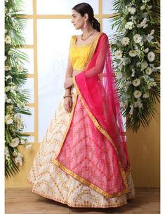 Indowestern Lehenga, Ghagra Choli, Bridal Lehenga Choli, Bollywood Lehenga, Lehenga Saree, Lehenga Skirt, Off White Designer, Blue Lehenga, Indian Lengha
