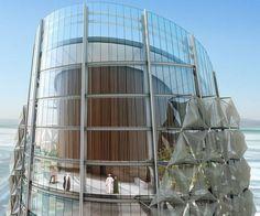 Башни Эль-Бахр с динамическими устройствами затенения