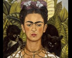 Frida Kahlo, la reina de los autorretratos: http://www.muyinteresante.es/cultura/arte-cultura/fotos/autorretratos-famosos/autorretratos-famosos-frida1 #art