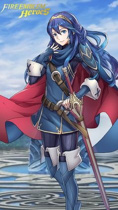 Fire Emblem Heroes - Lucina (iPhone 6 Wallpaper) by russell4653 on