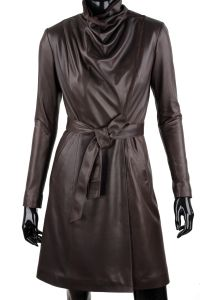 Płaszcz skórzany damski DORJAN EST123 Fashion, Fotografia, Dress, Moda, Fashion Styles, Fashion Illustrations