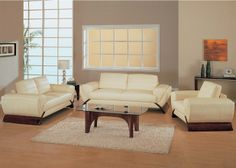 Interior decorating ideas with neutral-cream colored furniture