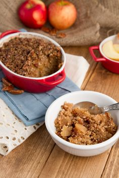 baked apple pie quinoa (better than baked oatmeal!)