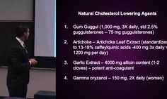Naturally Managing High-Cholesterol: Gum Guggul and Artichoke Extract (8...