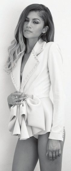 "zendayac-news: ""Zendaya for Modeliste Magazine "" Pinterest: @SlayDoll"