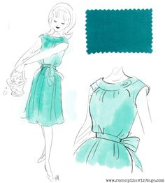 Rosaspina Vintage: Collection sketches