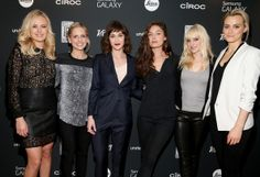 Malin Akerman, Sarah Michelle Gellar, Lizzy Caplan, Alexa Davalos, Anna Faris and Taylor Schilling attend Variety Awards Studio - Day 1 at the Leica Gallery and Store on November 20, 2013 in West Hollywood, California.