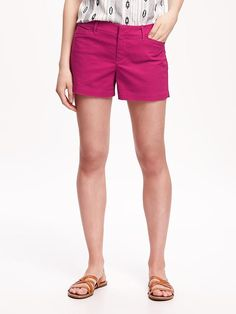 """Pixie Chino Shorts for Women (3 1/2"""") Product Image"""